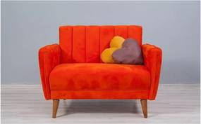 Fotoliu extensibil Sifi, portocaliu