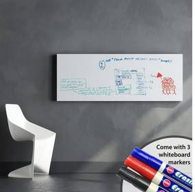 Autocolant tip tablă Walplus Whiteboard, 45 x 200 cm