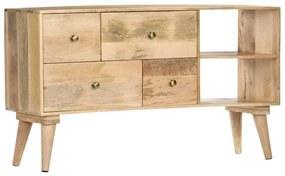 286179 vidaXL Servantă, 110 x 30 x 62 cm, lemn masiv de mango