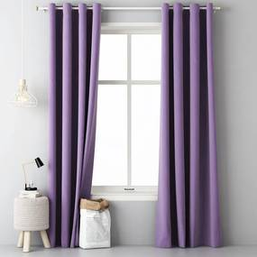 Draperie decorativă Easy violet 2 buc