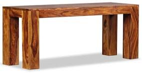 244352 vidaXL Bancă din lemn masiv de sheesham 110x35x45 cm