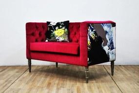 Sofa Loveseat - Pink Dream (2 Locuri)