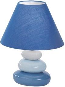 Ideal lux - Lampa de masa 1xE14/40W/230V albastru