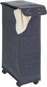 Coş de rufe Wenko Corno, 44,4 l, albastru închis