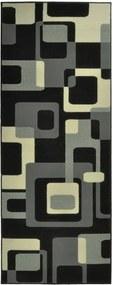 Covor Hanse Home Hamla Retro, 120 x 170 cm, negru