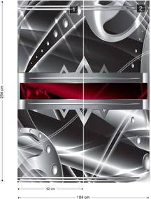 Fototapet GLIX - Modern 3D Design 2 + adeziv GRATUIT Papírová tapeta  - 184x254 cm
