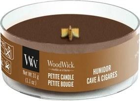 WoodWick lumanare parfumata maro Petite Humidor