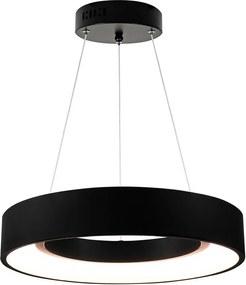 LED lampa suspendata BODO 1xLED/20W/230V negru