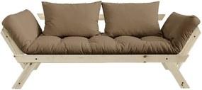 Canapea variabilă KARUP Design Bebop Natural/Mocca