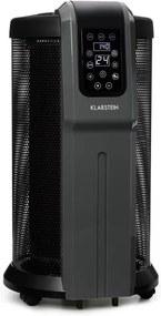 Klarstein DATSCHA DIGITAL, 360 ° încălzitor, termostat, încălzire radială, telecomandă, 2200 W, negru
