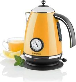 Klarstein Aqua Vita Cabana ceainic din oțel inoxidabil portocaliu 1,7 l 2200W