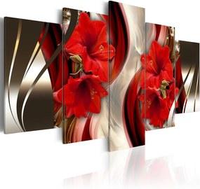 Tablou - Crimson Nights 100x50 cm
