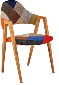 Scaun Living Fin 3444 Textil Multicolor