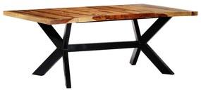 247430 vidaXL Masă de bucătărie, 200x100x75 cm, lemn masiv de sheesham