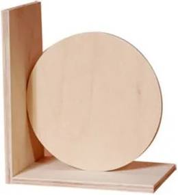 Suport din lemn pentru carti - model cerc