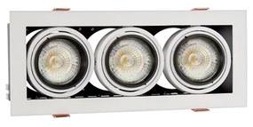 Corp de iluminat tavan fals MODERN DAY MINI 3xGU10/10W/230V