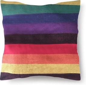 Perna din bumbac pentru leagan sau hamac, 45x45cm, multicolor