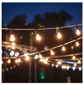 Lanț decorativ de crăciun GIRLANDA 22 m 20xE27/15W/230V IP44