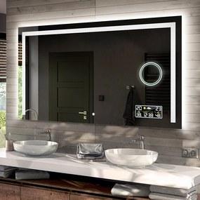 Oglinda baie cu iluminare LED11