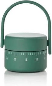 Timer mecanic pentru bucatarie Singles 332018 Verde, Ø5,4xH8,9 cm, Zone Denmark