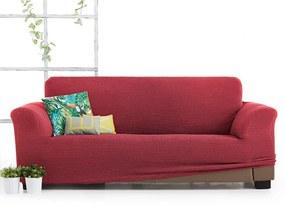 Husa Milos pentru canapea cu trei locuri, rosu 180-230 cm