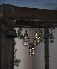 Șirag luminos pentru exterior cu LED Star Trading Cage, 8 becuri