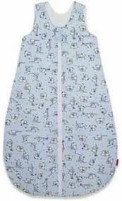 KidsDecor - Sac de dormit fara maneci Loving Bear 70 cm din Bumbac, 70x30 cm, 3-9 luni, Tog 2.5, Albastru