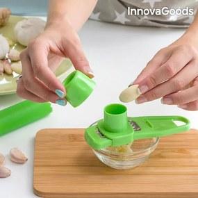 Dispozitiv de Curățat și Răzuit Usturoi InnovaGoods