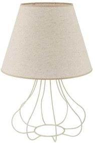 Lampă de masă ECO 1xE27/40W/230V 490 mm bej