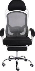 Scaun ergonomic, spătar mesh, recliner, înălțime reglabilă, SIB OS 101