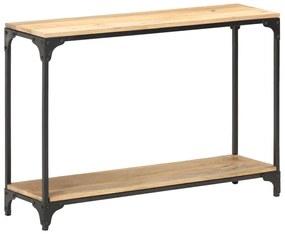320259 vidaXL Masă consolă, 110 x 30 x 75 cm, lemn masiv de mango