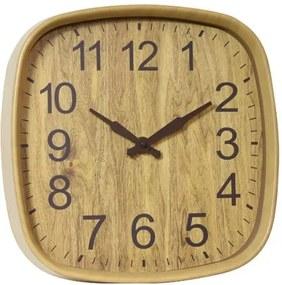 Ceas pentru perete imitatie lemn ,Forma Patrat ,Grunberg ,KLJ3032, BEJ , 30.5 x 30.5 x 4 cm KLJ3032