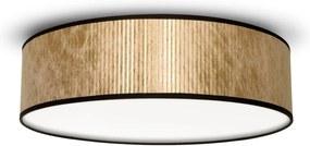 Plafonieră Bulb Attack Tres, ⌀ 40 cm, arămiu