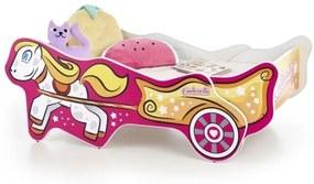 Pat din pal pentru copii Cinderella Multicolor