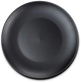 Farfurie intinsa stoneware negru SOHO NAVA NV 141 050