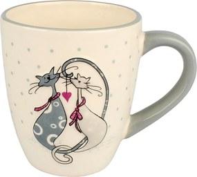 Cană ceramică Cats, 375 ml