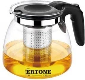 Ceainic din sticla , filtru din inox , cap 900 ml, ertone, ERT-MN152 ERT-MN152