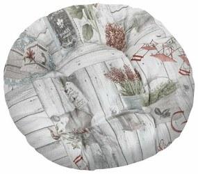Pernă rotundă Bellatex Ema Terasa, 40 cm