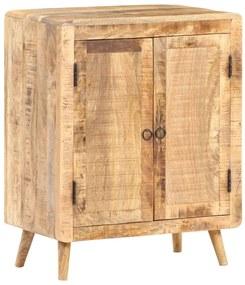 321796 vidaXL Servantă, 60 x 35 x 76 cm, lemn de mango nefinisat