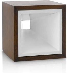 Philips 43268/86/16 - Lampa de masa LED KUBIZ 2xLED/2,5W rust