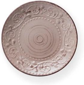 Farfurie din ceramică Brandani Serendipity, ⌀ 21 cm, maro