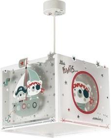 Dalber 74552 Plafoniere pentru copii The Pirates alb plastic 1 x E27 max. 60W