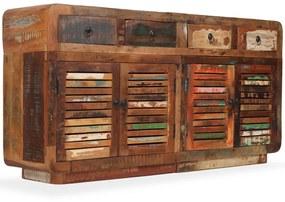 244953 vidaXL Servantă, 150 x 35 x 75 cm, lemn masiv reciclat