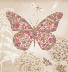 Tablou pe pânză -Enchanted Butterfly