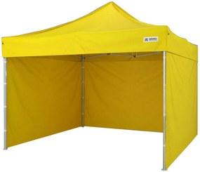 Cort pavilion pliabil 3x3m - galben