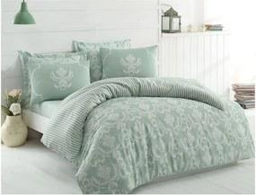Lenjerie de pat cu cearșaf Water Fall, 200 x 220 cm