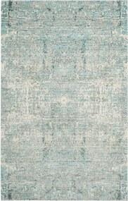 Covor Modern & Geometric Abella, Verde/Multicolor, 160x230