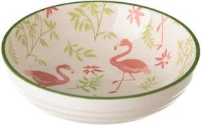 Bol din porțelan Unimasa Flamingo, ø 12,6 cm