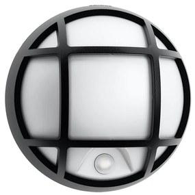 Philips 17319/30/16 - LED Corp de iluminat perete exterior senzor EAGLE 1xLED/3W/230V