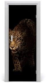 Autocolante pentru usi perete Jaguar